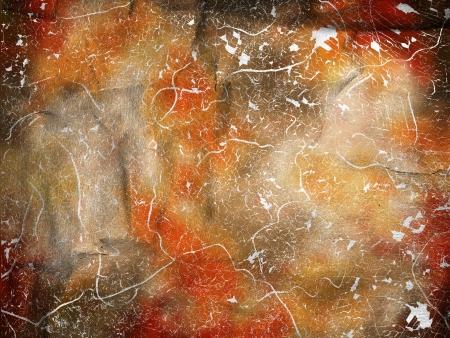 abstract orange background Stock Photo - 17844101