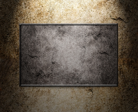 metal template background Stock Photo - 17844285