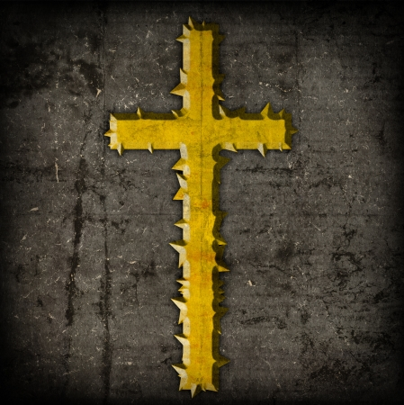 jesuit: cross on abstract grunge background