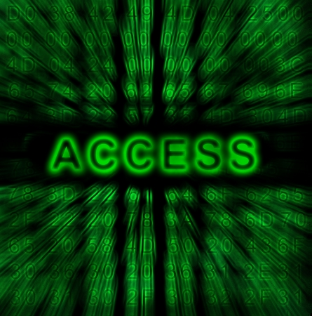 word Access on digital background Stock Photo - 18192464