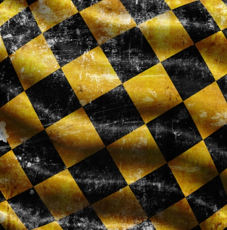 checkered background with folds photo