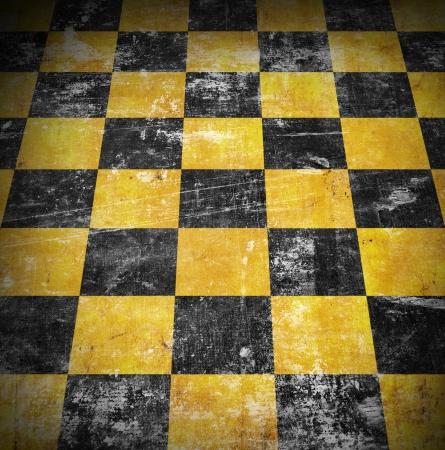checkered floor background photo
