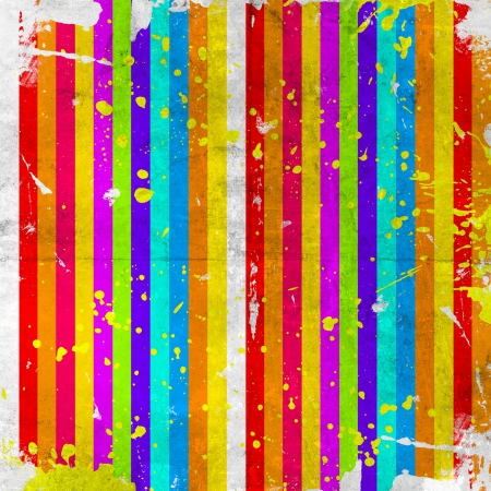 grunge background with color stripe  photo