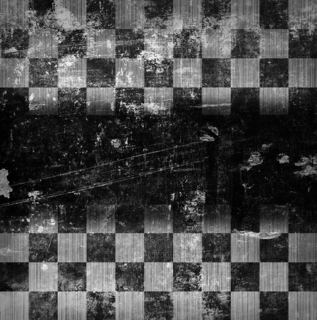 grunge chessboard backgound with place for text Stock Photo - 18744327