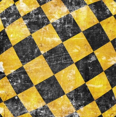 vivid grunge chessboard backgound with place for text Stock Photo - 18744360