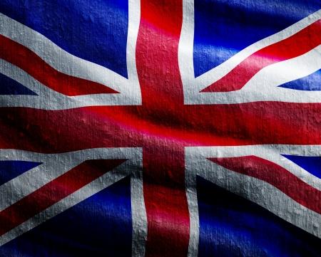 Grunge england flag photo