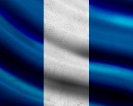 bandera de guatemala: Grunge bandera de Guatemala Foto de archivo