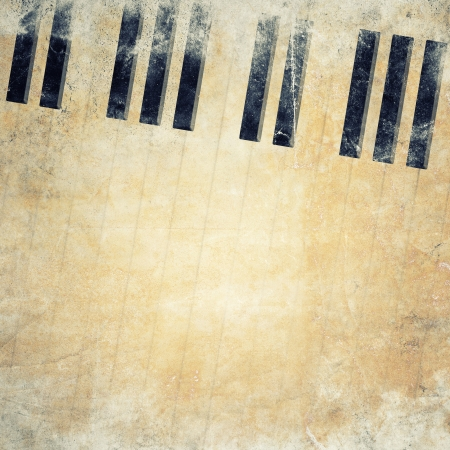 sheet music: musical grunge background