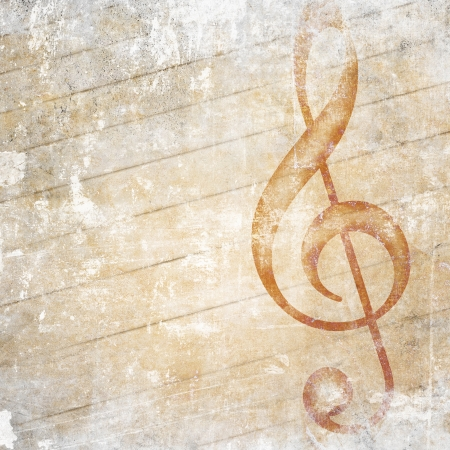 musical grunge background photo