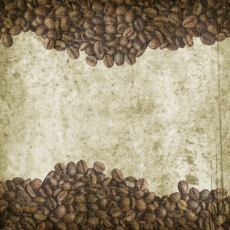 Grunge coffee background  photo
