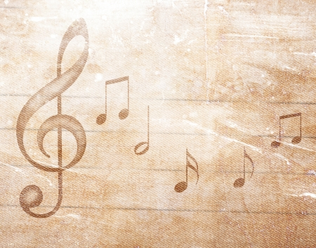 musical grunge background Фото со стока - 20567822