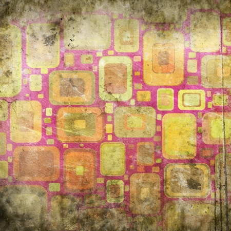abstract background with squares photo