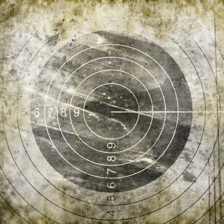 Abstract grunge target  photo