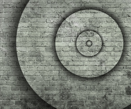 multilevel: abstract background with circles
