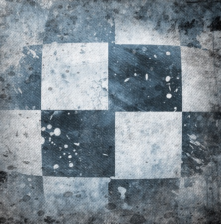 grungy: Grungy chessboard background with stains