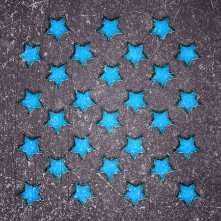 magick: abstract background with stars