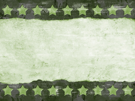 Military Grunge background with abstract stars photo