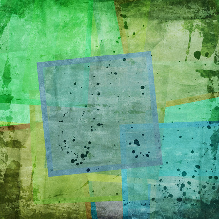 abstract background with colorful squares photo