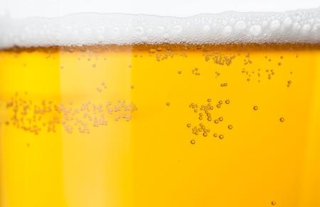 Beer bubbles  Archivio Fotografico