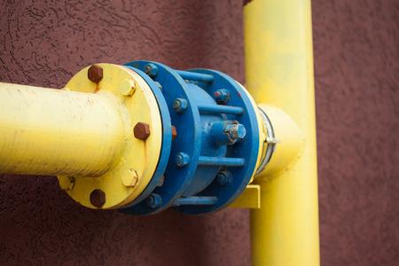 inoperative: yellow gas pipe