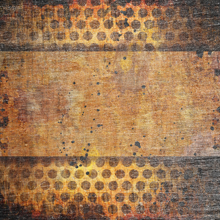 Abstract grunge background with holes photo