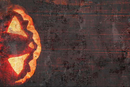 jackolantern: jack-o-lantern on wooden background