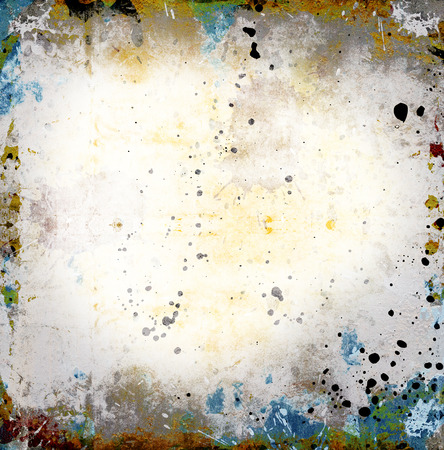 scratches: abstract grunge background with scratches and stains Stock Photo