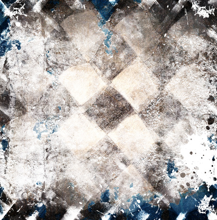 scratches: Grunge chess background with scratches