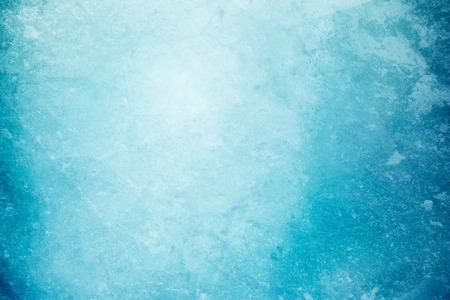Textured ice blue frozen rink winter background Archivio Fotografico