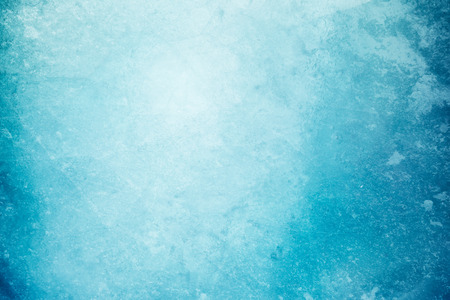 Textured ice blue frozen rink winter background Standard-Bild