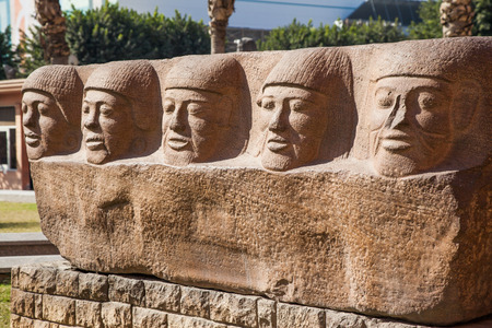 egyptology: Ancient egyptian monuments from collection of Cairo National Museum
