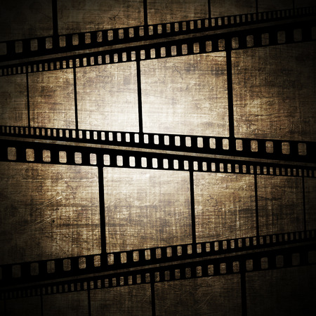 Vintage background with film frame