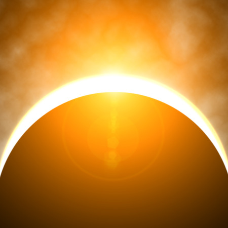 eclipse: Solar eclipse