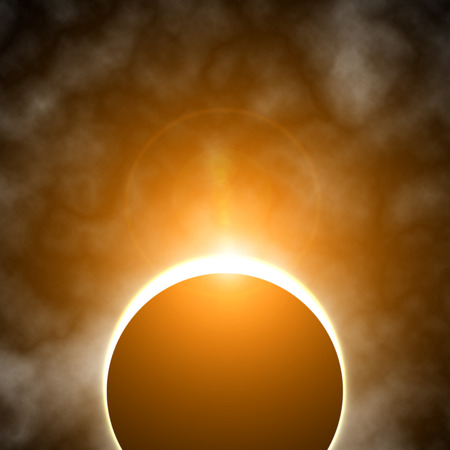 Eclissi solare Archivio Fotografico - 39362439