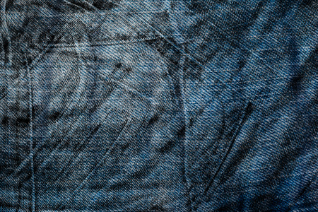 close up image: Blue denim jeans texture close up image