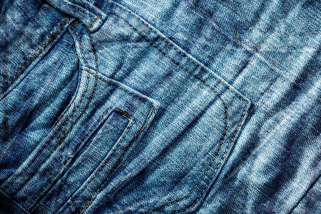 close up image: Blue denim jeans texture close up image