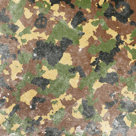 conceal: military camouflage pattern in green and brown colors