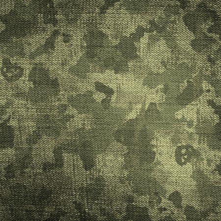 傷や汚れで迷彩軍の背景 写真素材