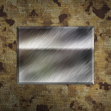 place for text: Camouflage military background with place for text Stock Photo