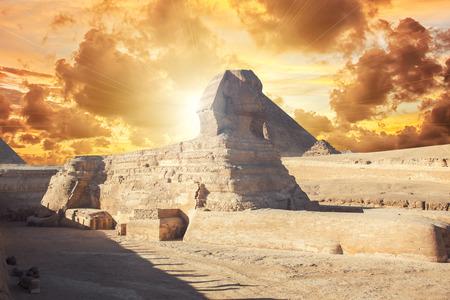 sphinx: Un hermoso perfil de la Gran Esfinge
