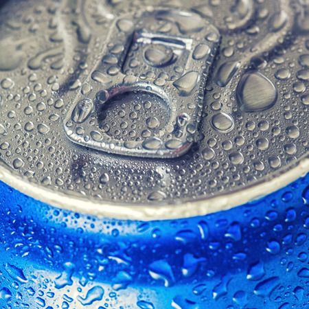 Can of cola Stock Photo