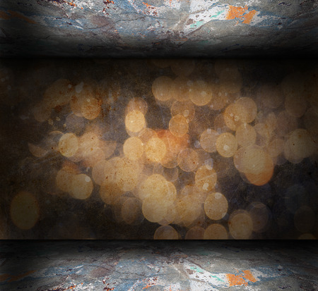 urban grunge: Abstract grunge Interior with scratches and stains Stock Photo