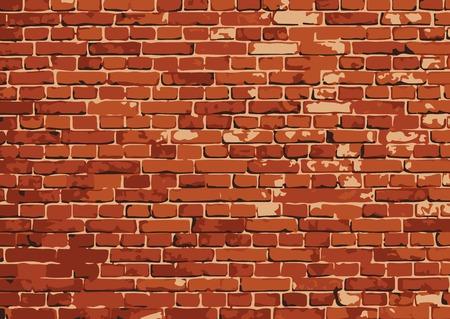 vector brick wall texture illustration, brickwall pattern