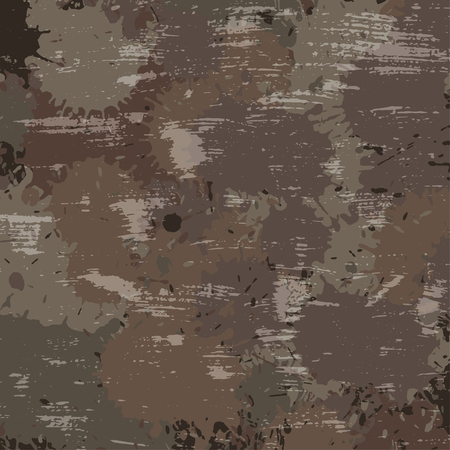 conceal: vector military camouflage pattern in brown colors