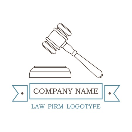 themis: vector logotype for law firm, attorney or lawyer. EPS Illustration