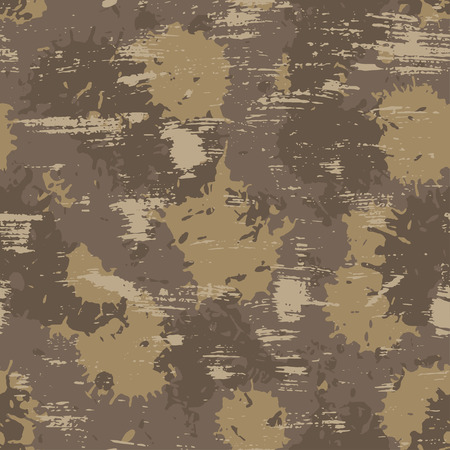 conceal: vector illustration of seamless military camouflage pattern. EPS Illustration