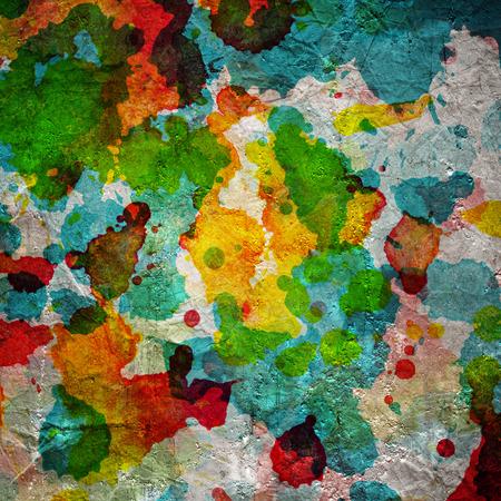 Watercolor blots background Stock Photo