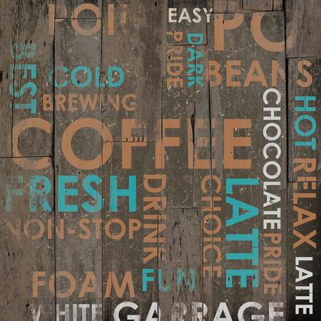 Beer Drink Types Menu as a Grunge Background Imagens