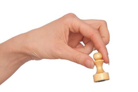 white pawn photo