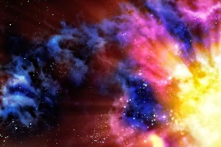 estrella de la vida: nacimiento de una nebulosa nueva despu�s de la explosi�n de la supernova